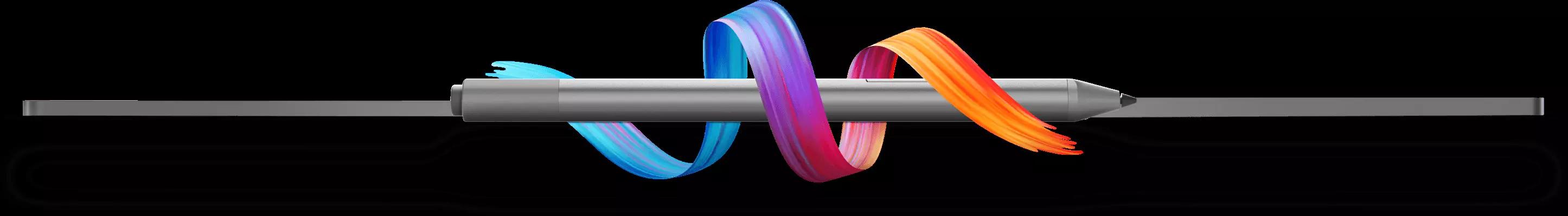 Lenovo Yoga Pen Wrapped in Colorful Ribbon