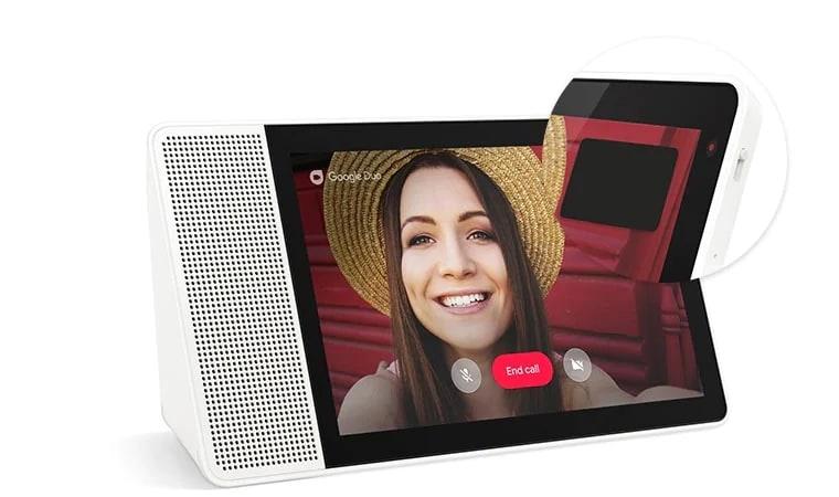 Privacy Shutter on Lenovo Smart Display 8 & 10